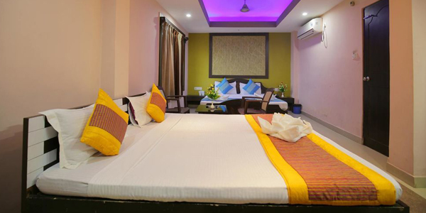 Double Bed AC Classic with Balcony