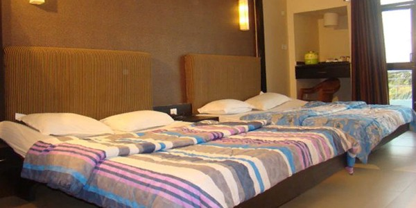 Deluxe Four Bedded Family Room with Breakfast